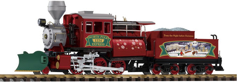 Piko 38246 G Christmas Camelback 2-6-0 Locomotive with Sound