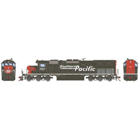 Athearn 86799 HO SP/D&RGW RTR SD40T-2 with DCC & Sound #5387