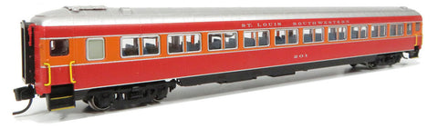 Rapido Trains 509122 N Cotton Belt Osgood-Bradley Lightweight Coach #205