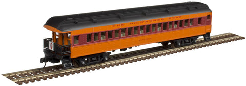 Atlas 50004251 N Milwaukee Road Trainman® ACF® 60' Passenger Car (Set of 5)
