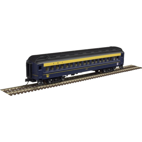 Atlas 50004250 N Central Railroad of New Jersey Trainman® ACF® 60' Passenger Car (Set of 5)