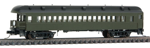 Atlas 50003817 N Unlettered Trainman® ACF® 60' Observation Car