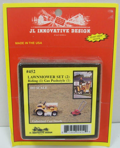 JL Innovative Design 452 Lawnmower set rider/gas