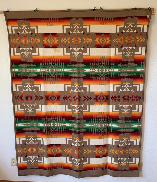 "10764 Pendleton Beaver State Chief Joseph Robe Shawl Blanket 64"" x 80"" Western Decor"