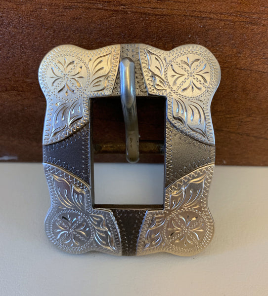 "10749 New Handmade DON ROGERS ¾"" Headstall Buckle"