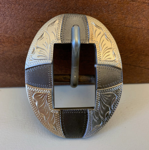 "10757 New Handmade DON ROGERS ¾"" Headstall Buckle"
