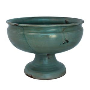 Blue Glazed Italian Hand made Arno Fruit Bowl
