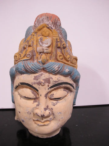 Asian Antique Buddha Head
