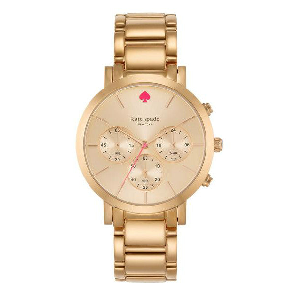 Kate Spade Gramercy Grand Chronograph Rose Watch