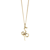Meadowlark Medusa Necklace - Gold Plated