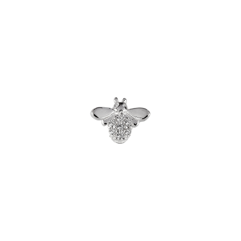 STOW Bee (Happy) Charm - Sterling Silver