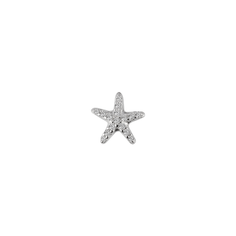 STOW Starfish (Treasure) Charm - Sterling Silver