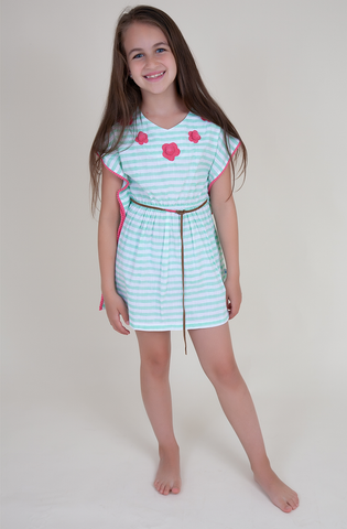 Seafoam Resort Dress (Kids)