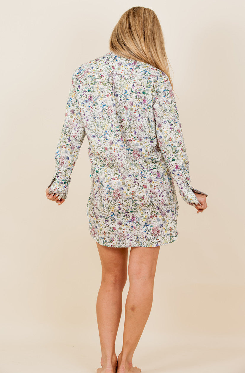The Wildflower - Liberty of London Cotton Nightshirt - We will be back with new prints soon!