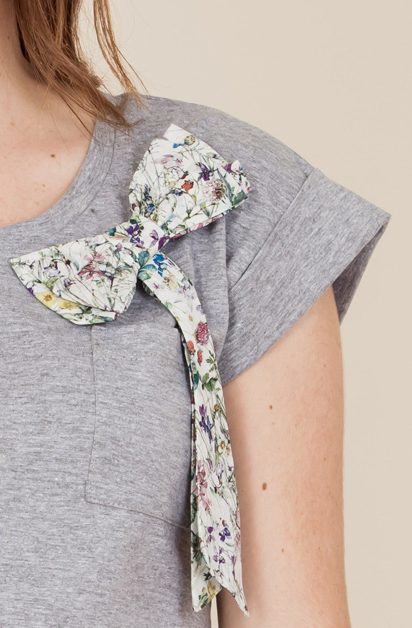 Liberty Wildflowers Bow T-Shirt