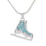 3D Ice Skater Necklace