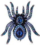 Crystal Spider Ring (Cool Halloween Ring)