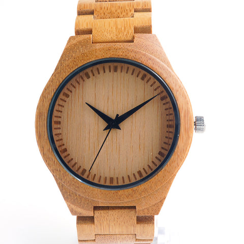 Bamboo Wood Watch for Men