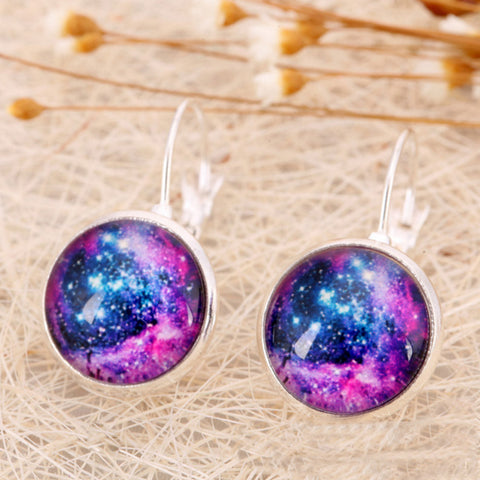 Galaxy Star Universe Stud Earrings