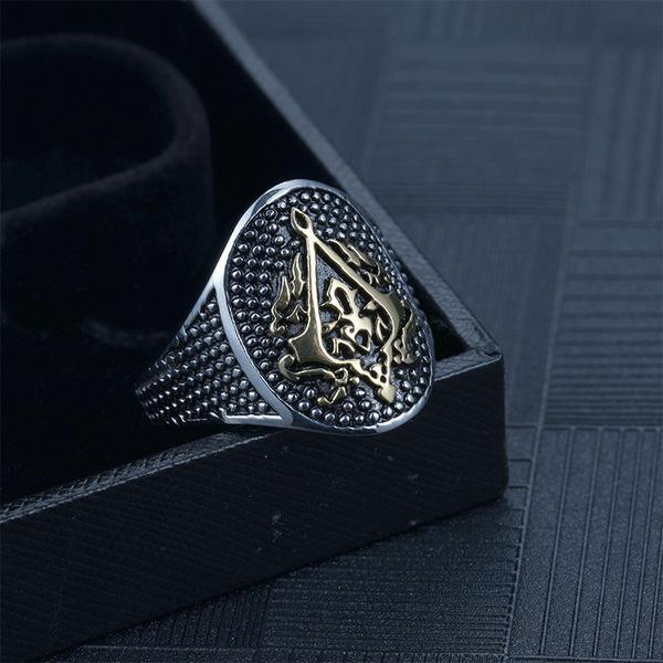 EXCLUSIVE ASSASSIN'S CREED RING - LIMITED EDITION