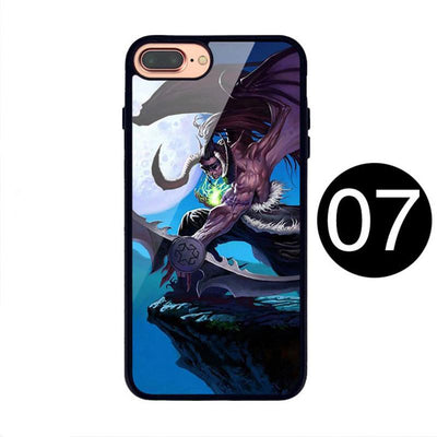 World of Warcraft Illidan Pattern Phone Case for IPhone Samsung