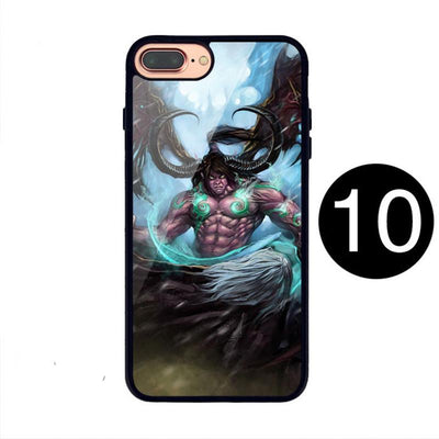 World of Warcraft Illidan Pattern Phone Case for Samsung IPhone