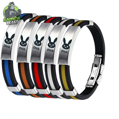 Overwatch Titanium Steel Fashion Sports Bracelet