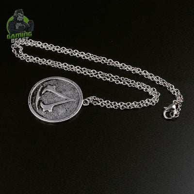 Assassin's Creed Mark Vintage Alloy Necklace
