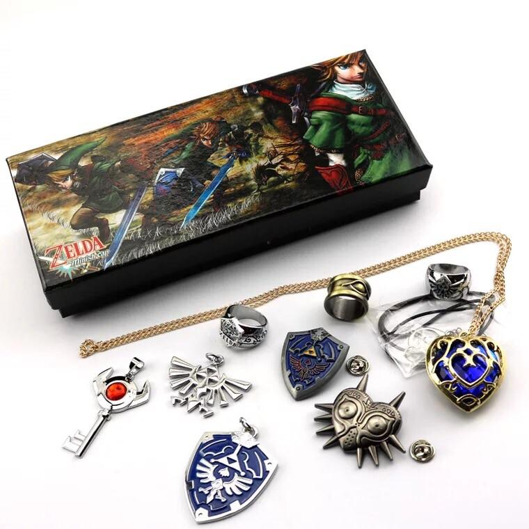 The Legend Of Zelda Necklace Set