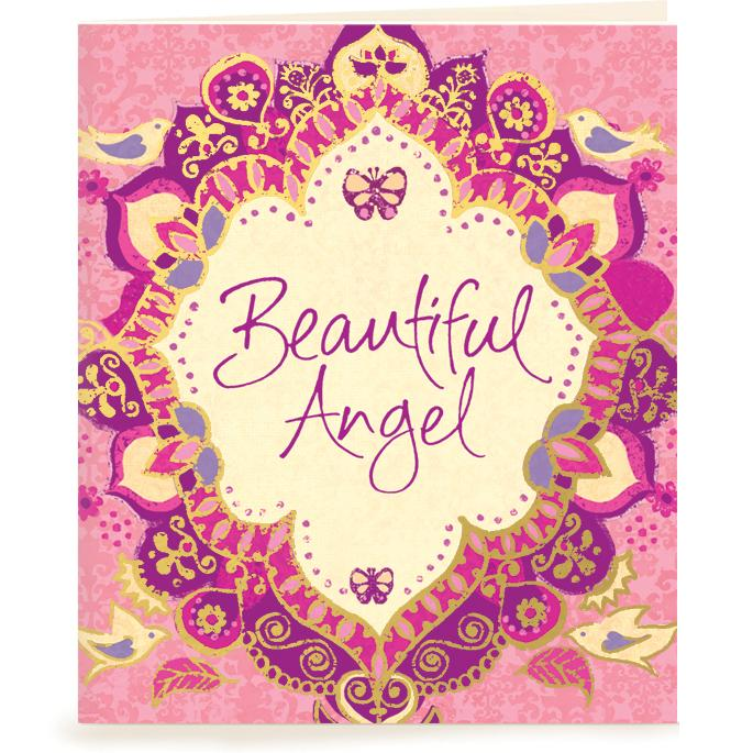 Intrinsic-Beautiful Angel Gift Tag