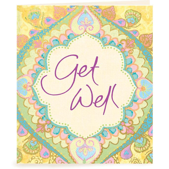 Intrinsic-Get Well Gift Tag