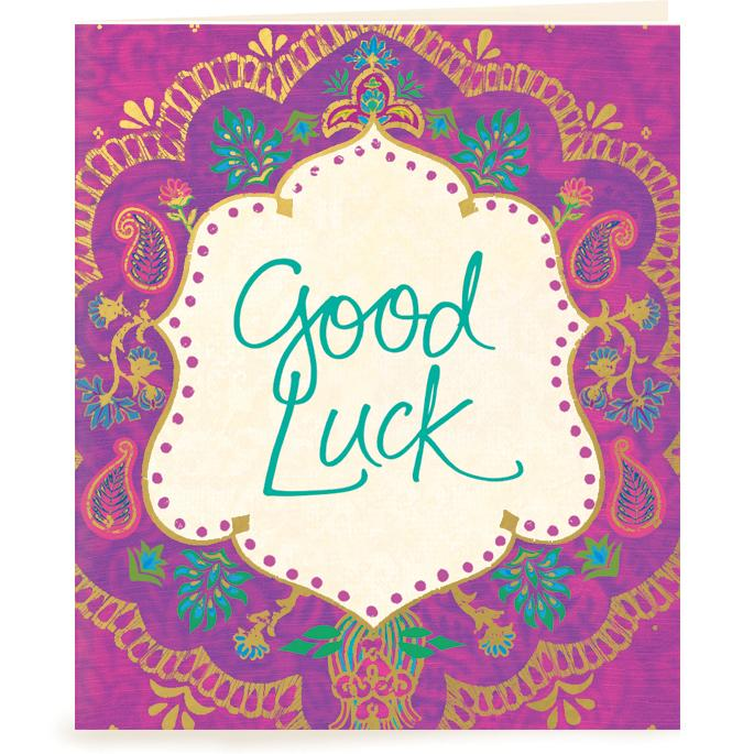 Intrinsic-Good Luck Gift Tag