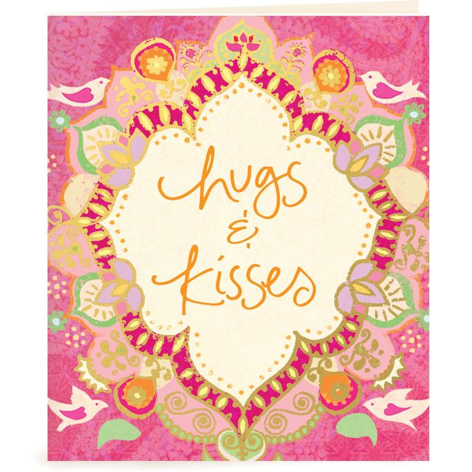 Intrinsic-Hugs & Kisses Gift Tag