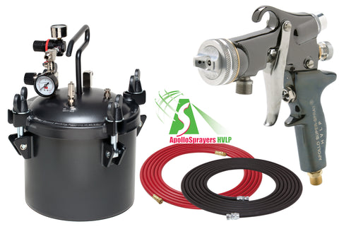 A4230-5605  2.5 Gallon Combo Package with the 5605 Spray Gun