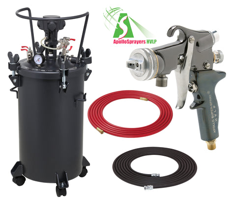 A4256-5605  10 Gallon Combo Package with the 5605 Spray Gun