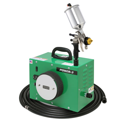 PW3-110-7700GT-600  Apollo POWER-3 Turbo paint spray system with 7700GT-600 spray gun