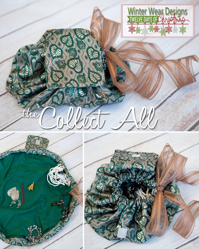 The 12 Days of Christmas: Day 7, The Collect All Drawstring Bag