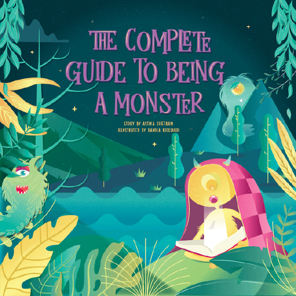 Front Cover - Complete Guide to Being a Monster