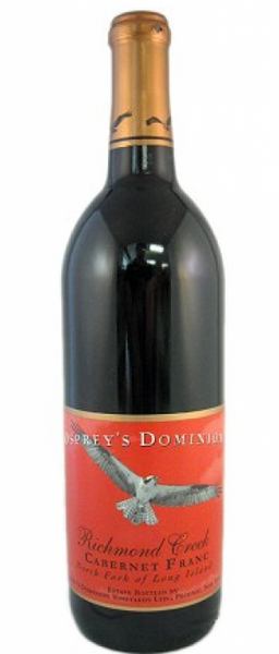 2014 Osprey's Dominion Vineyards Richmond Creek Cab Franc