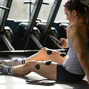 electrical muscle stimulation in the gym