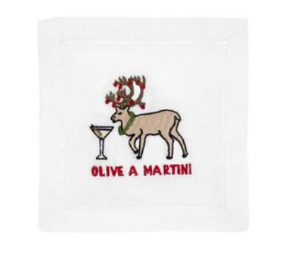 Olive a Martini - Cocktail Napkins