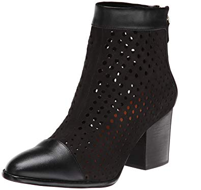 Rebecca Minkoff Bedford Perforated Leather Ankle Boot - Seaside Soles