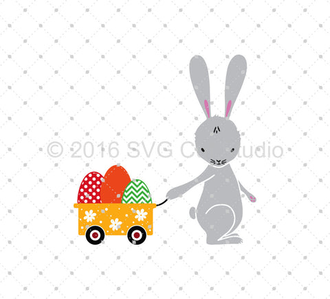 Easter Eggs Delivery SVG Cut Files at SVG Cut Studio