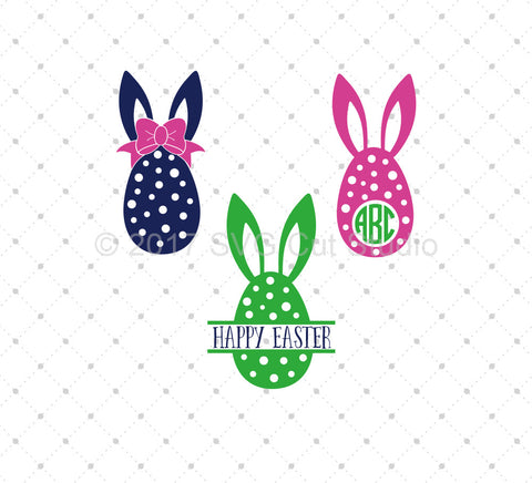 Easter Eggs SVG Cut Files at SVG Cut Studio