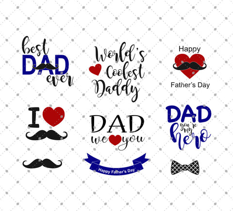 Father's Day SVG Cut Files at SVG Cut Studio