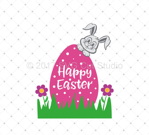 Happy Easter SVG Cut Files D2 at SVG Cut Studio