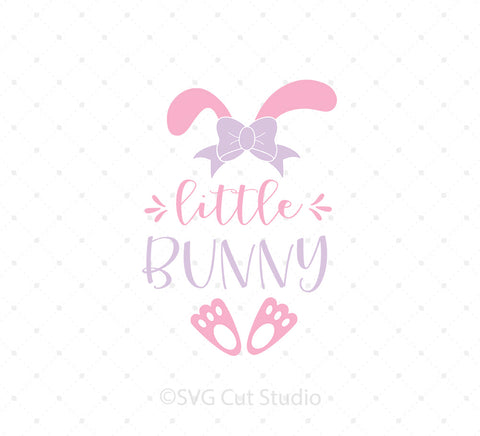 Little Bunny SVG Cut Files at SVG Cut Studio