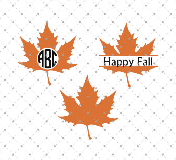 Maple Leaf SVG Cut Files