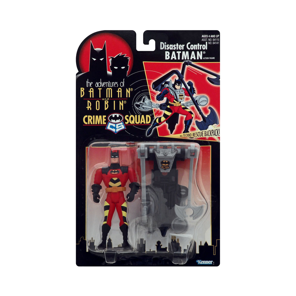 Crime Squad Disaster Control Batman from the Adventures of Batman and Robin