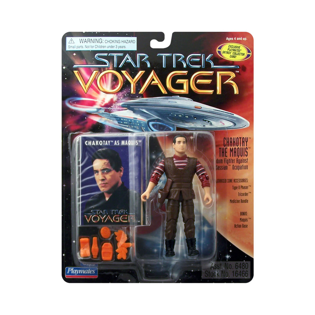 Chakotay the Maquis from Star Trek: Voyager